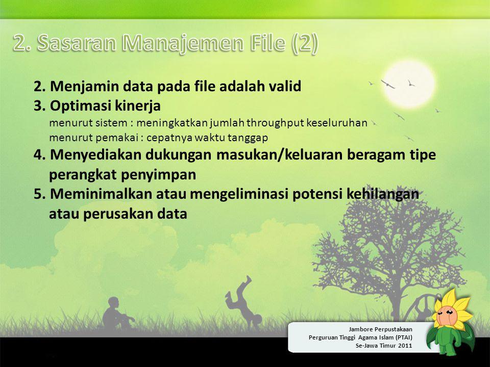 2. Sasaran Manajemen File (2)