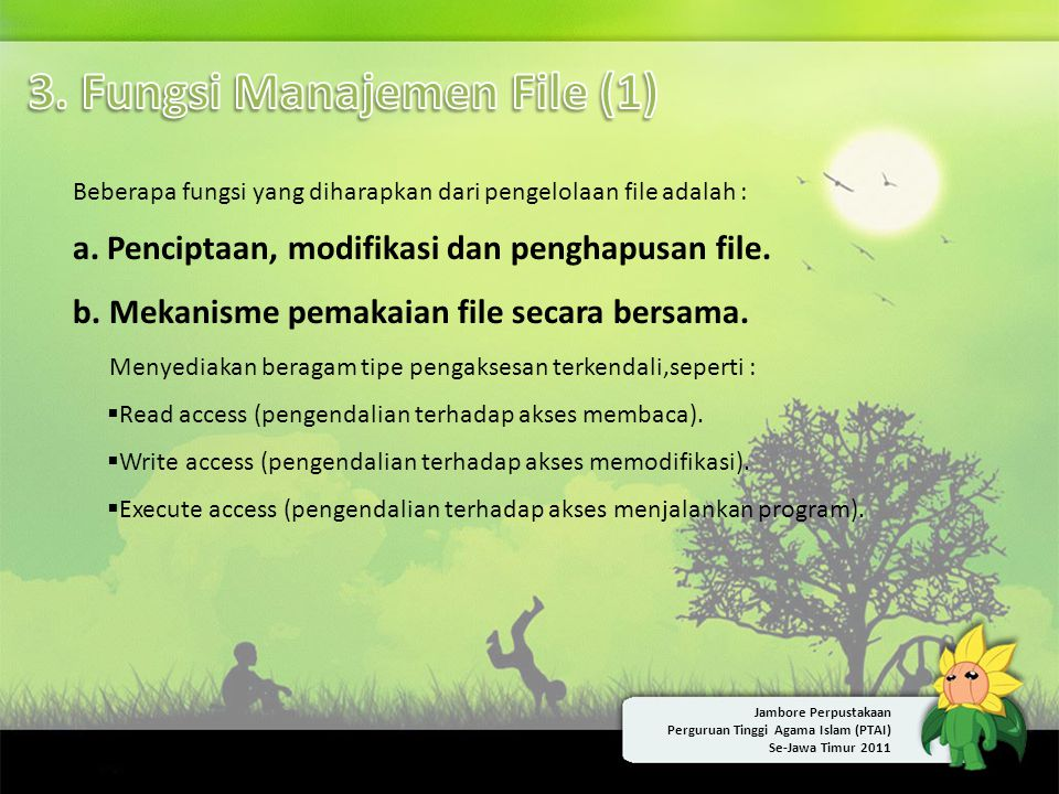 3. Fungsi Manajemen File (1)