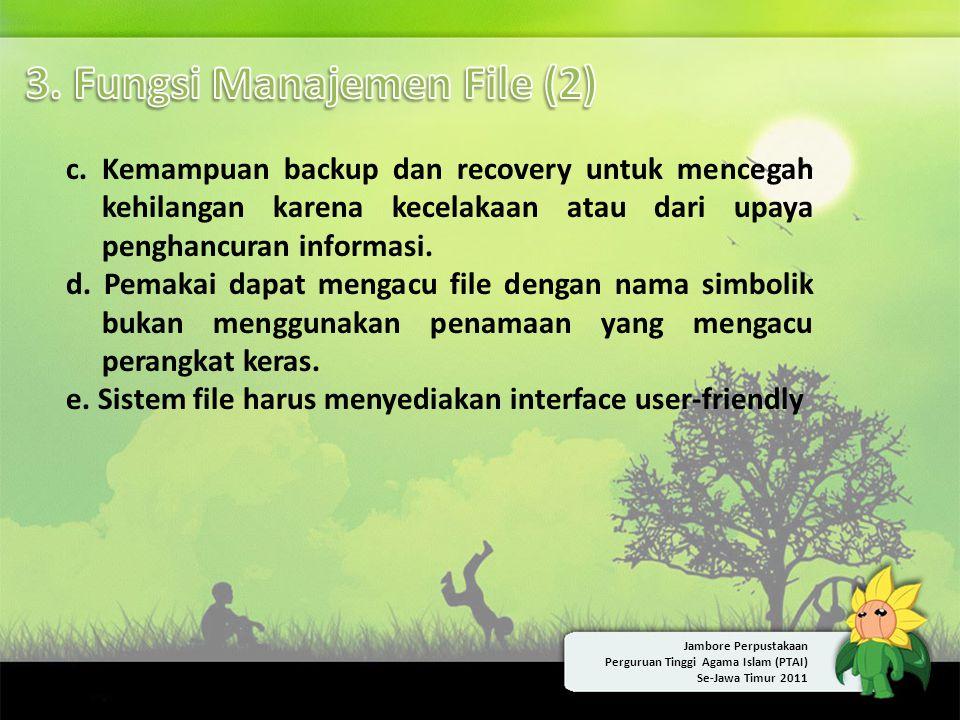 3. Fungsi Manajemen File (2)
