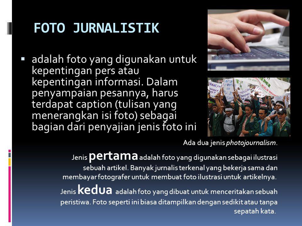 FOTO JURNALISTIK