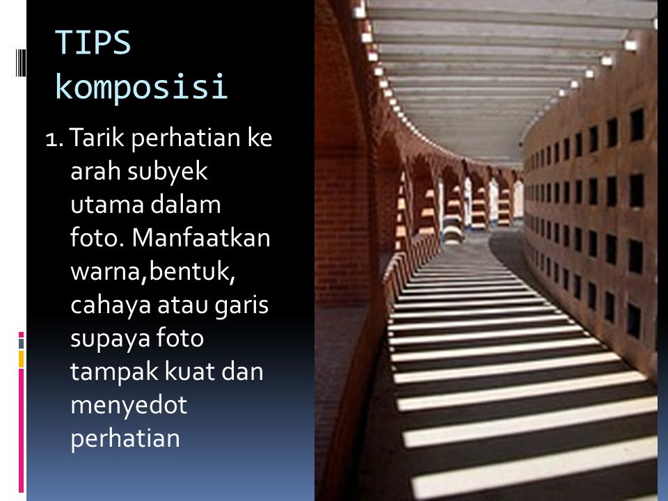 TIPS komposisi