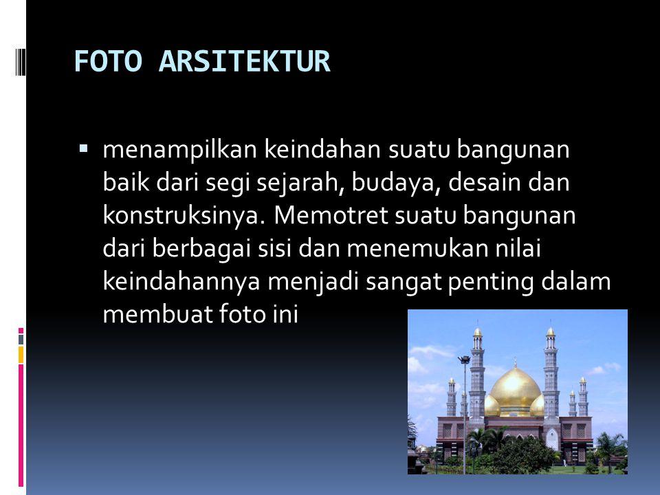 FOTO ARSITEKTUR