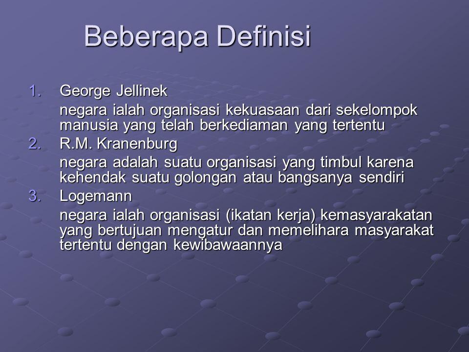 Beberapa Definisi George Jellinek