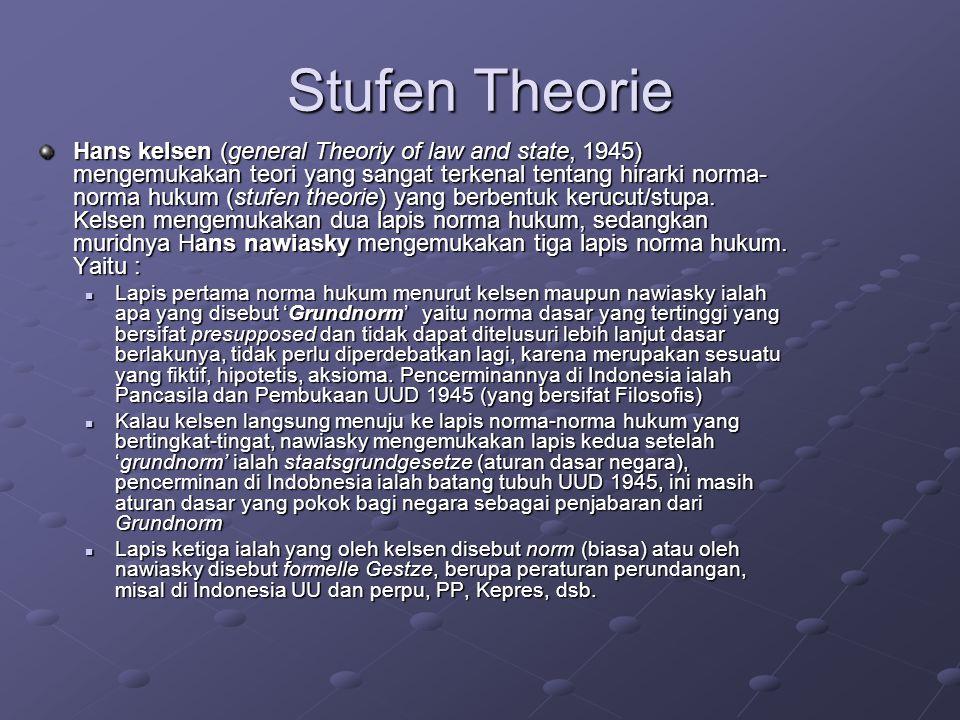 Stufen Theorie