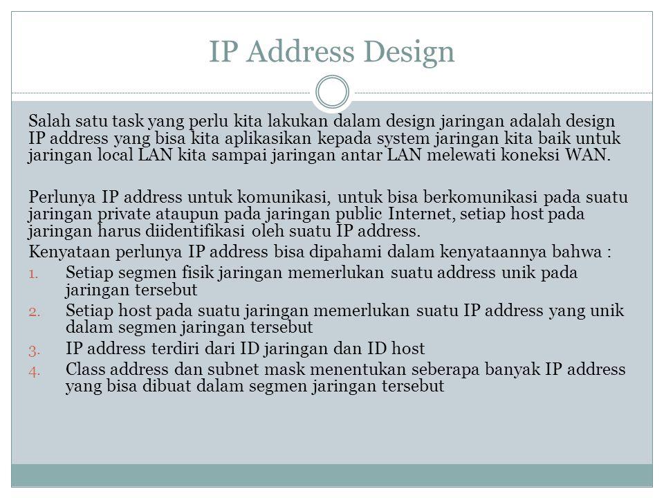 IP Address Design