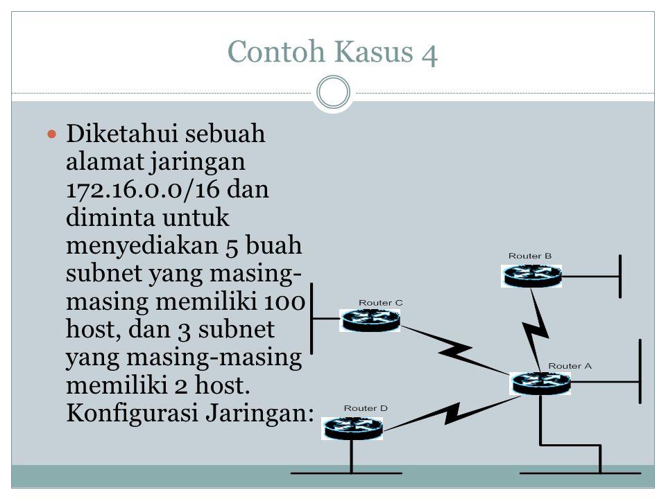 Contoh Kasus 4
