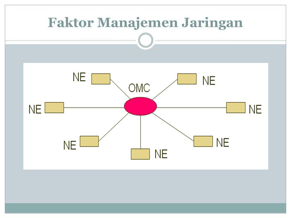 Faktor Manajemen Jaringan