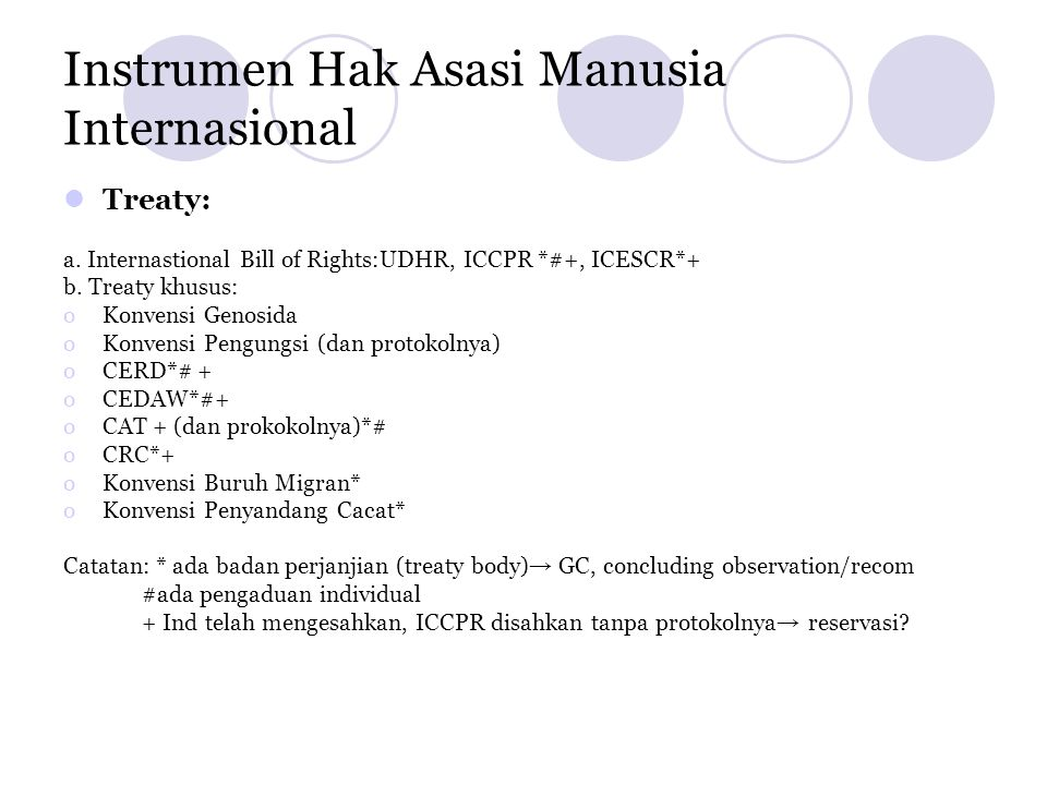 Instrumen Hak Asasi Manusia Internasional