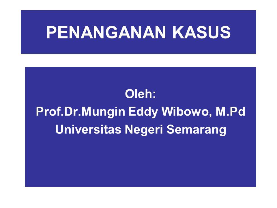 Oleh: Prof.Dr.Mungin Eddy Wibowo, M.Pd Universitas Negeri Semarang