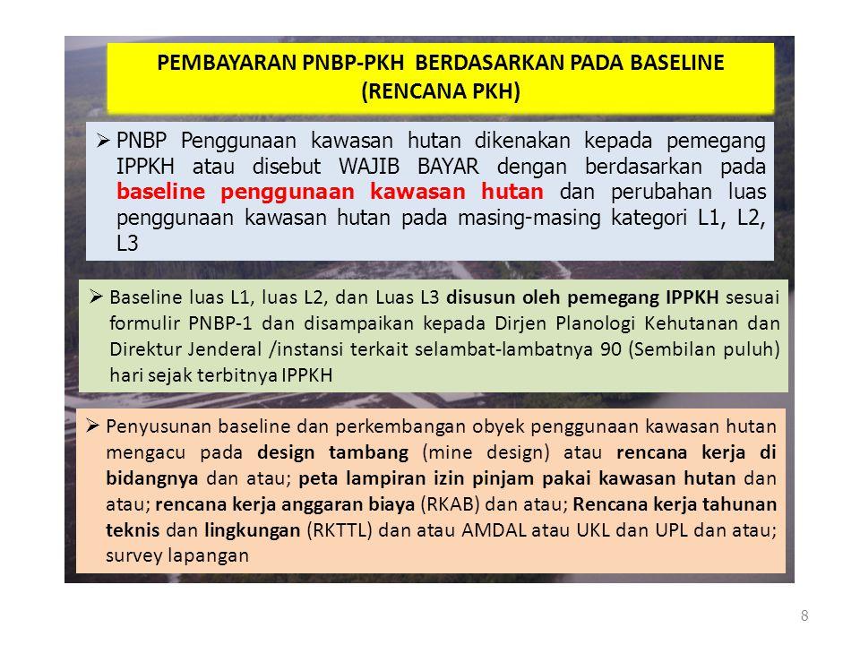 PEMBAYARAN PNBP-PKH BERDASARKAN PADA BASELINE