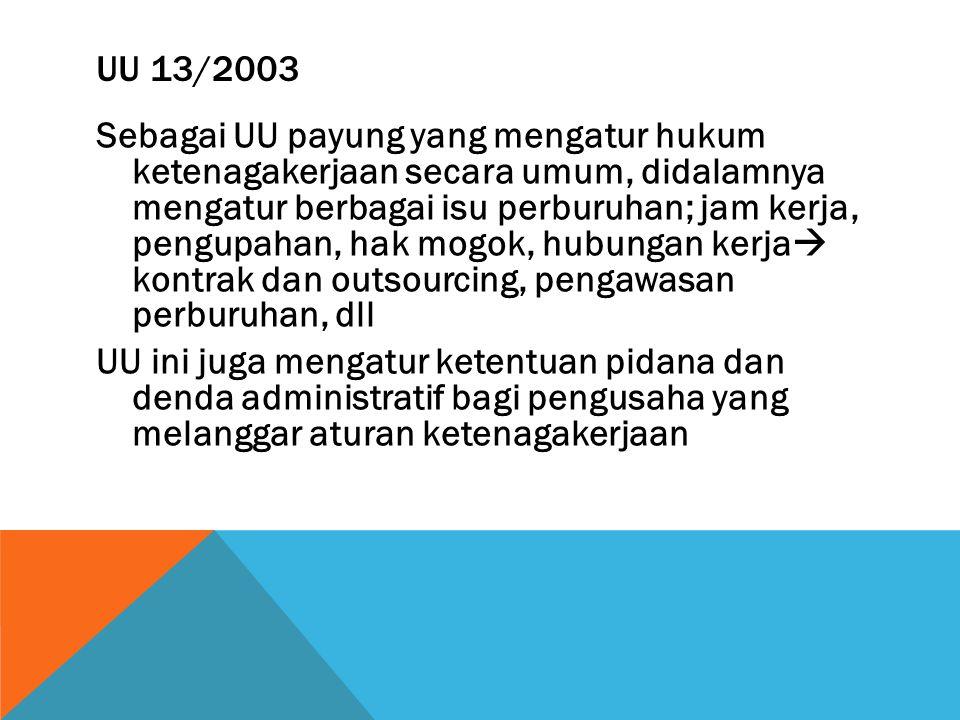 UU 13/2003
