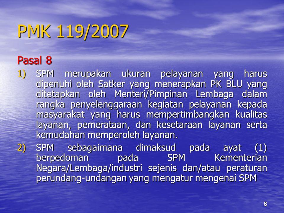 PMK 119/2007 Pasal 8.