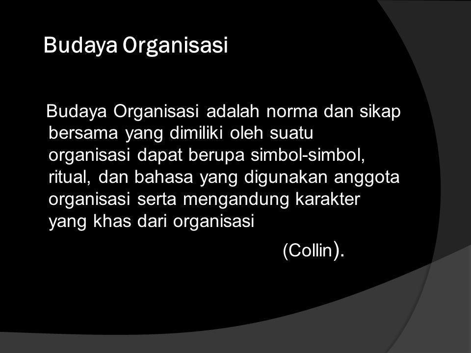 Budaya Organisasi (Collin).