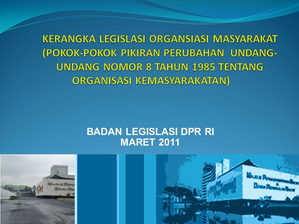 BADAN LEGISLASI DPR RI MARET 2011