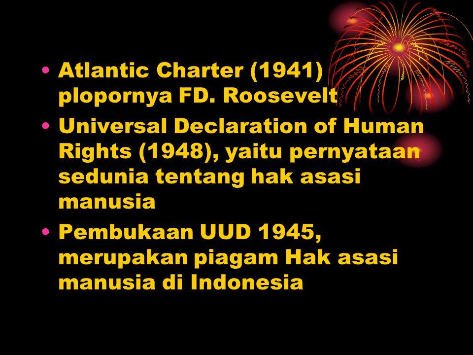 Atlantic Charter (1941) plopornya FD. Roosevelt
