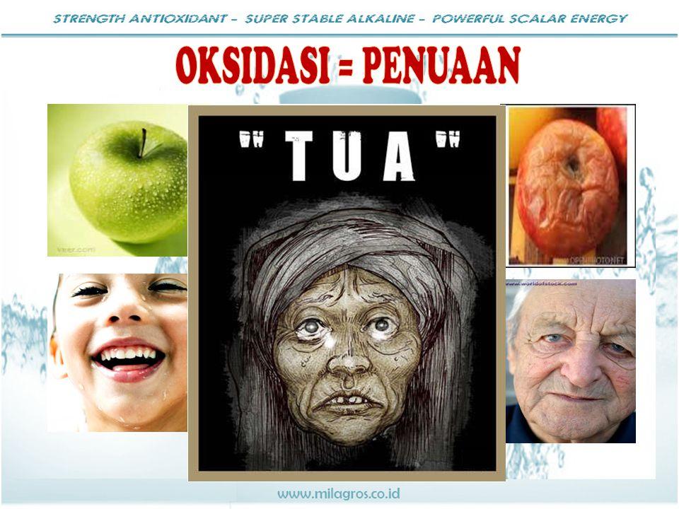 OKSIDASI = PENUAAN