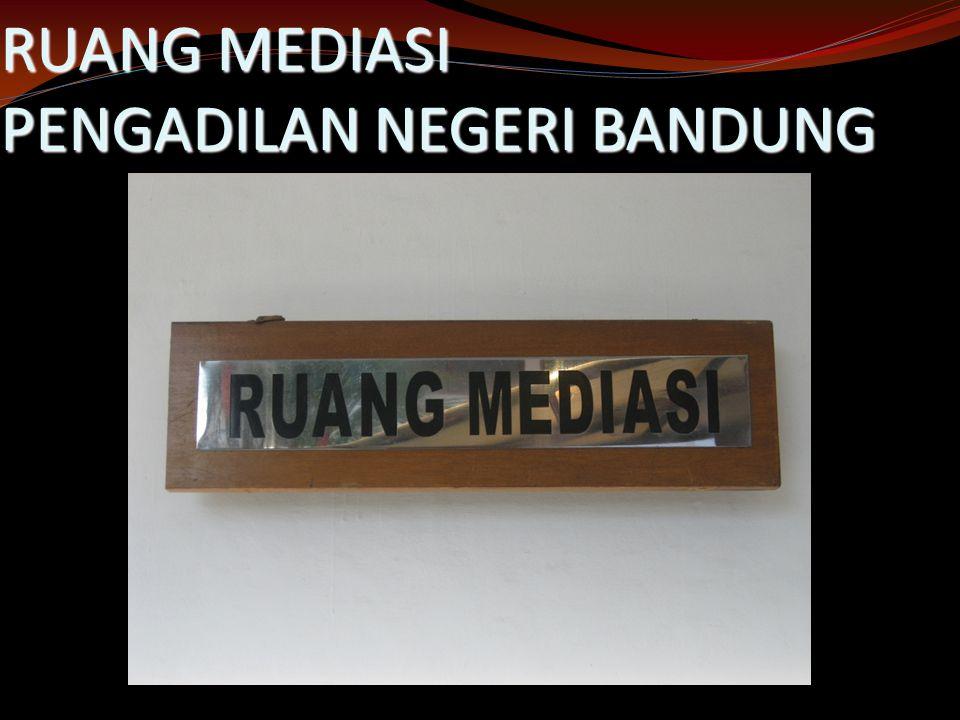 RUANG MEDIASI PENGADILAN NEGERI BANDUNG