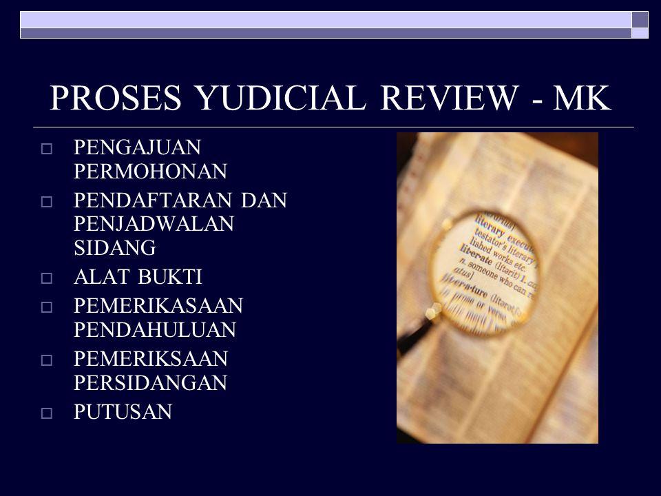 PROSES YUDICIAL REVIEW - MK