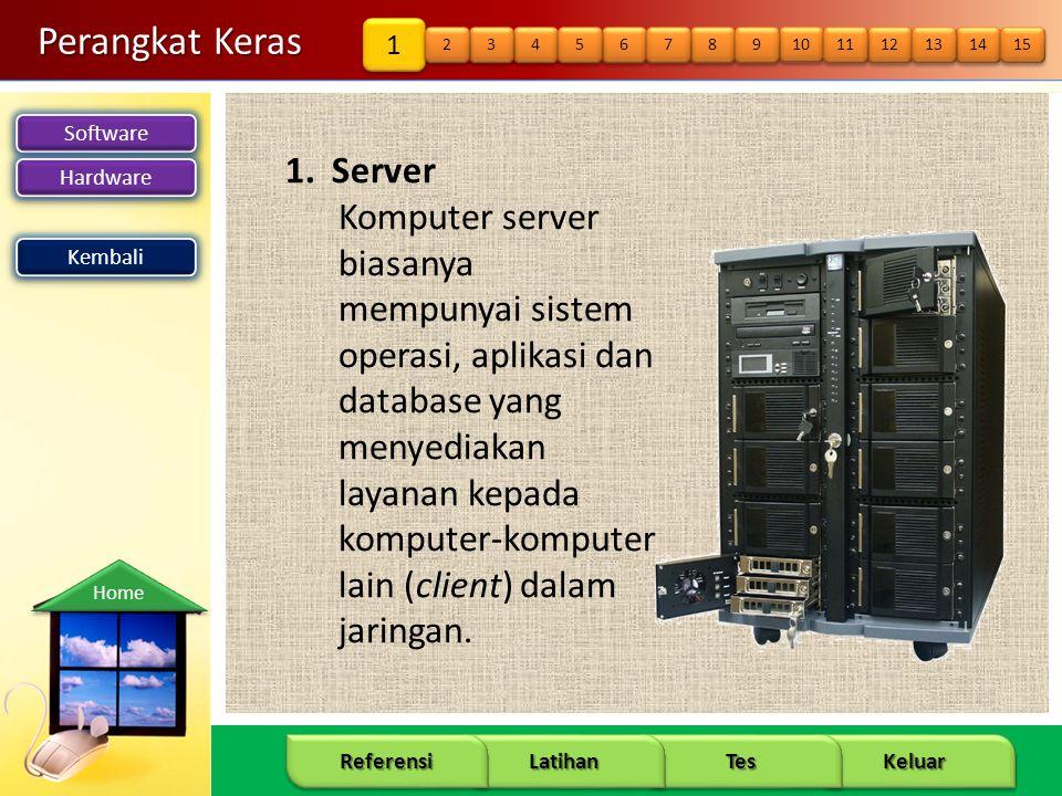 Perangkat Keras 1. Server