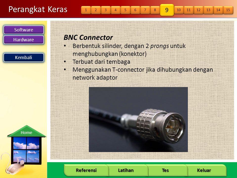 Perangkat Keras BNC Connector 9