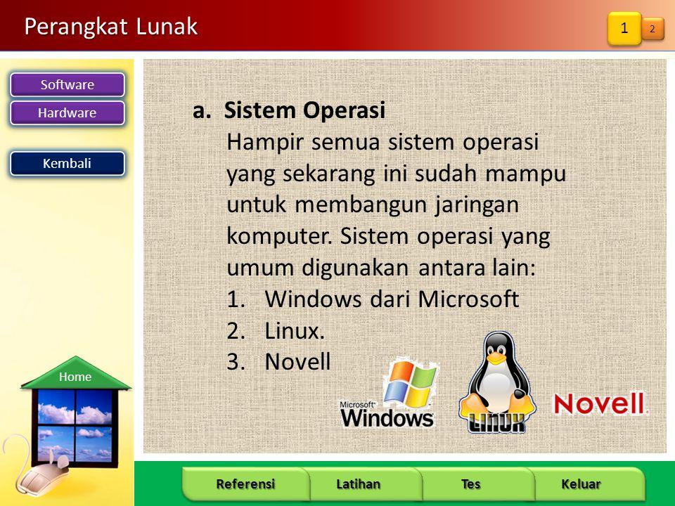 Windows dari Microsoft Linux. Novell