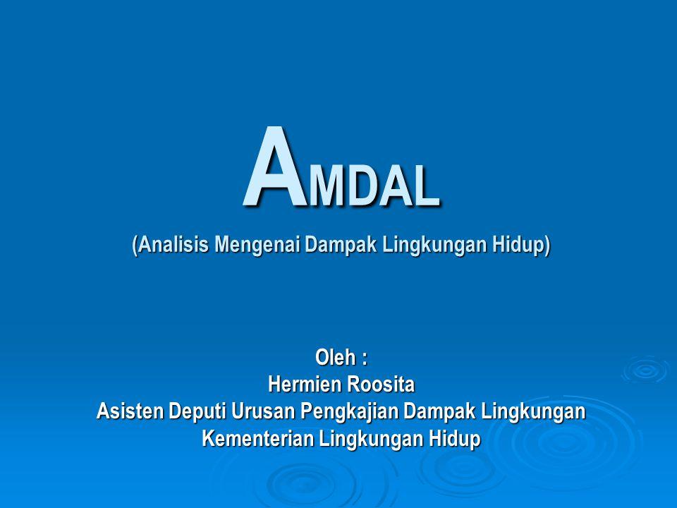 AMDAL (Analisis Mengenai Dampak Lingkungan Hidup)