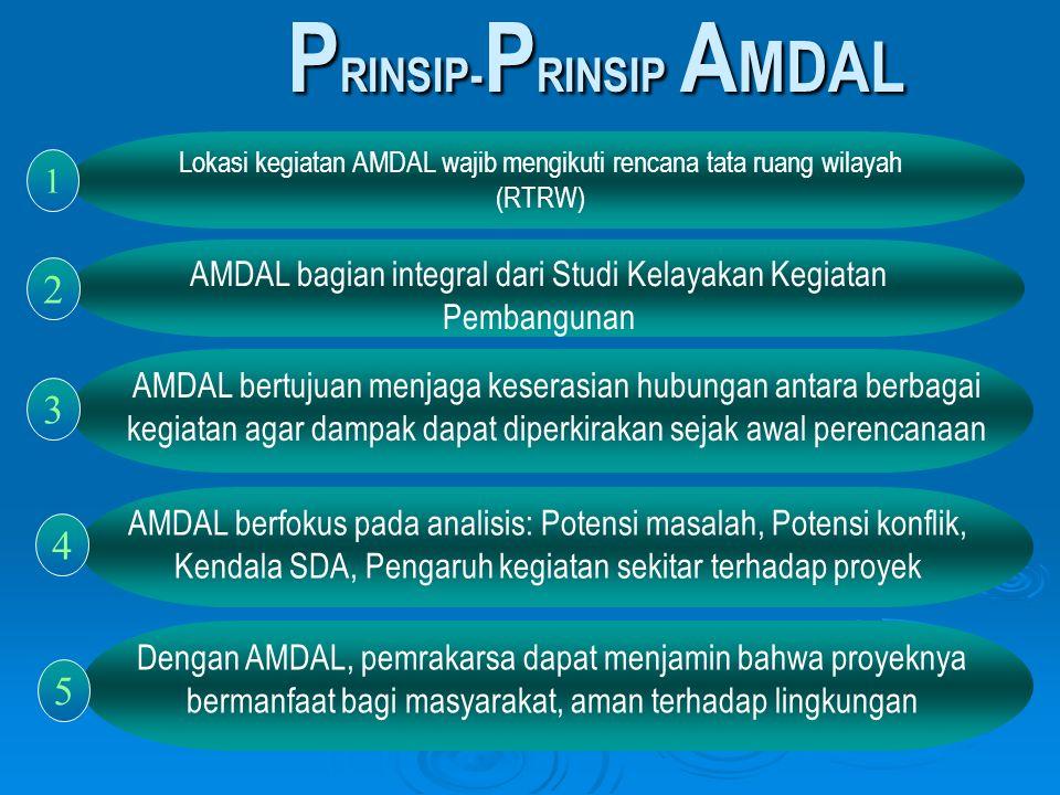 PRINSIP-PRINSIP AMDAL