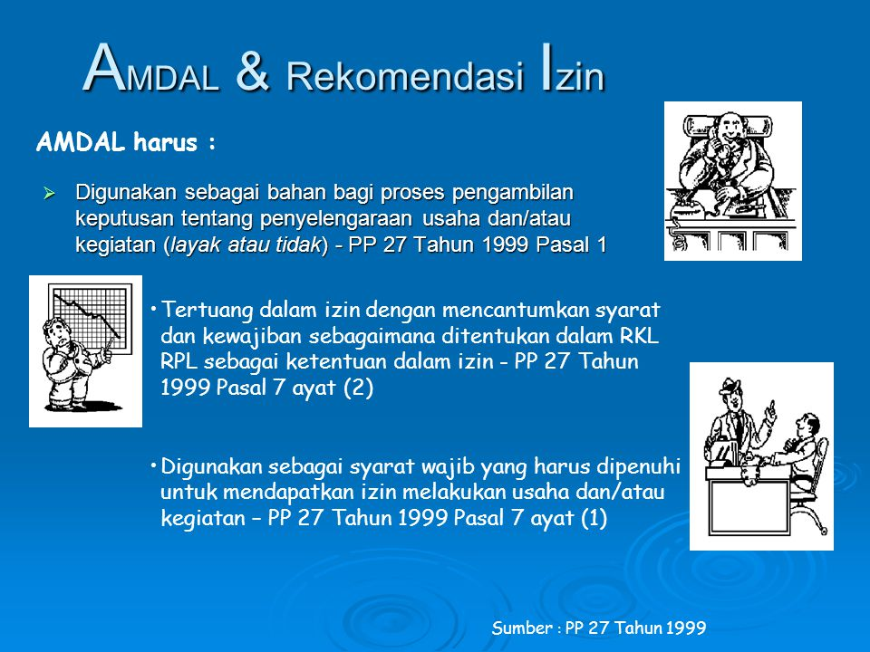 AMDAL & Rekomendasi Izin