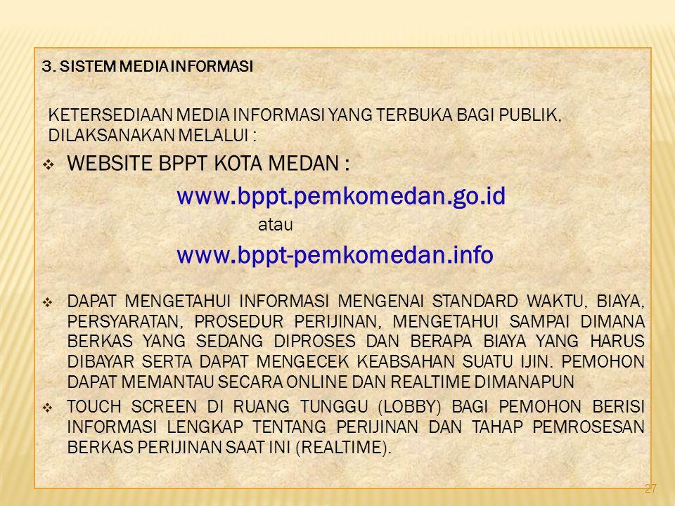 Website BPPT KOTA Medan :