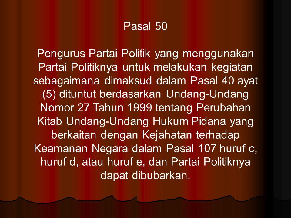 Pasal 50
