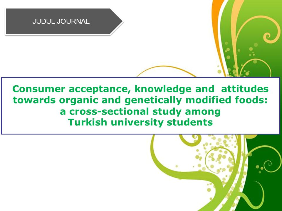 a cross-sectional study among Turkish university students