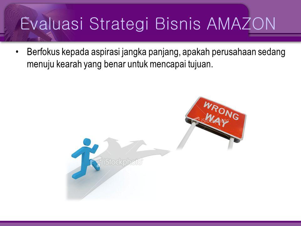 Evaluasi Strategi Bisnis AMAZON