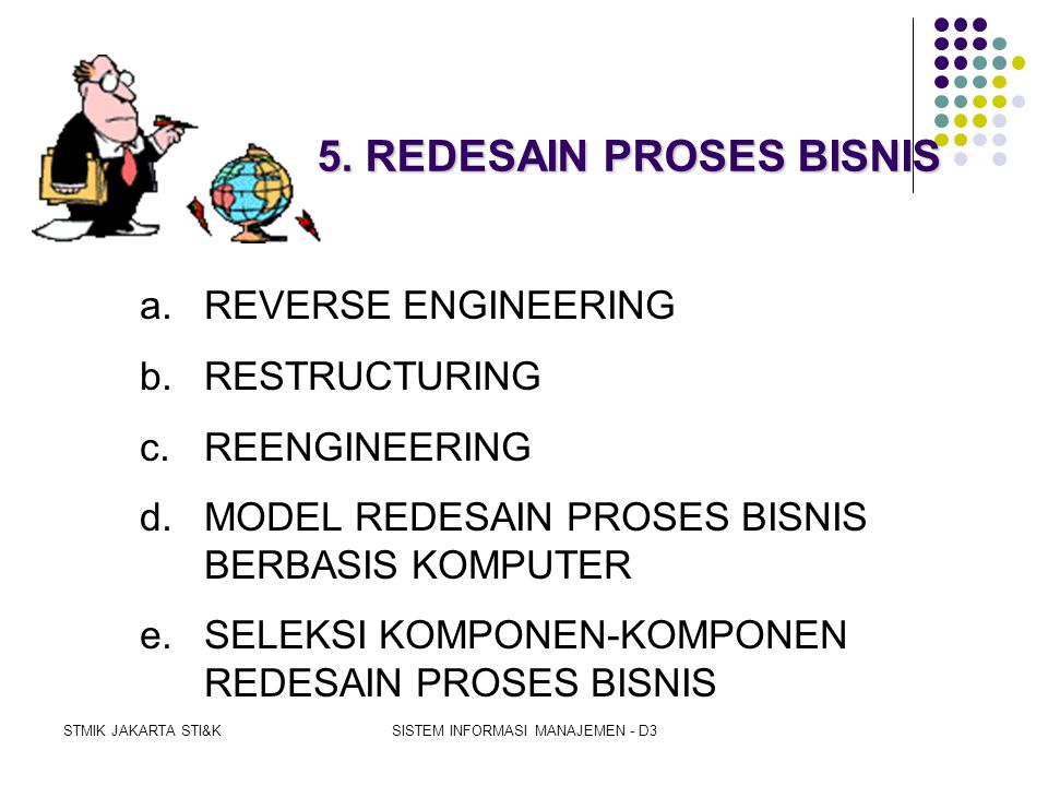 5. REDESAIN PROSES BISNIS