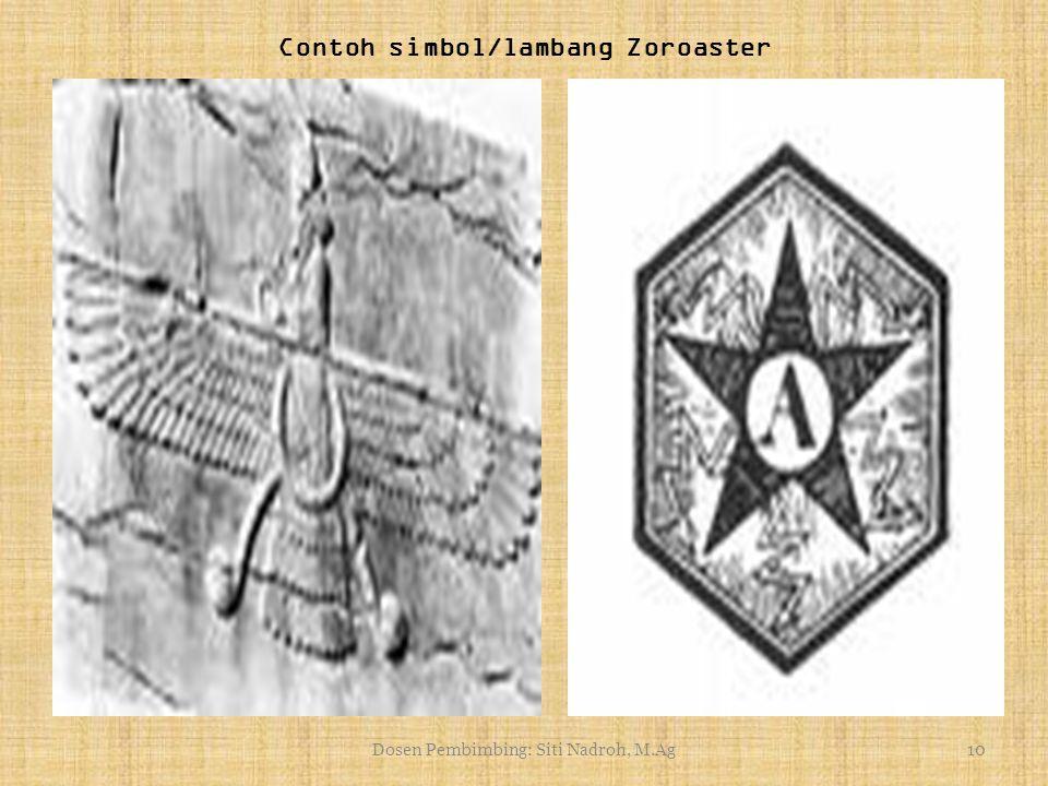 Contoh simbol/lambang Zoroaster