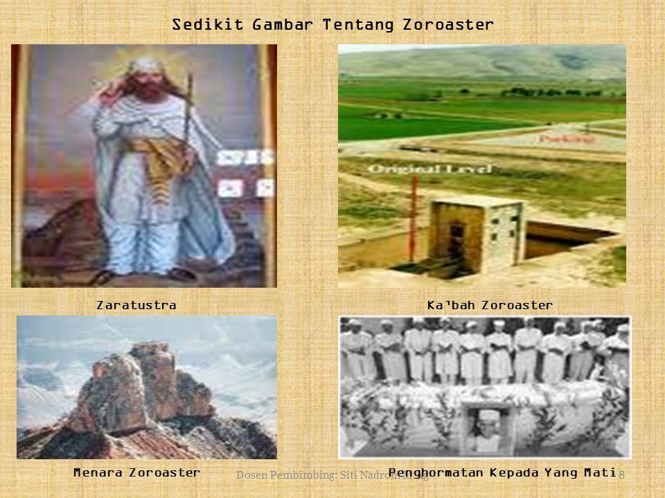 Sedikit Gambar Tentang Zoroaster
