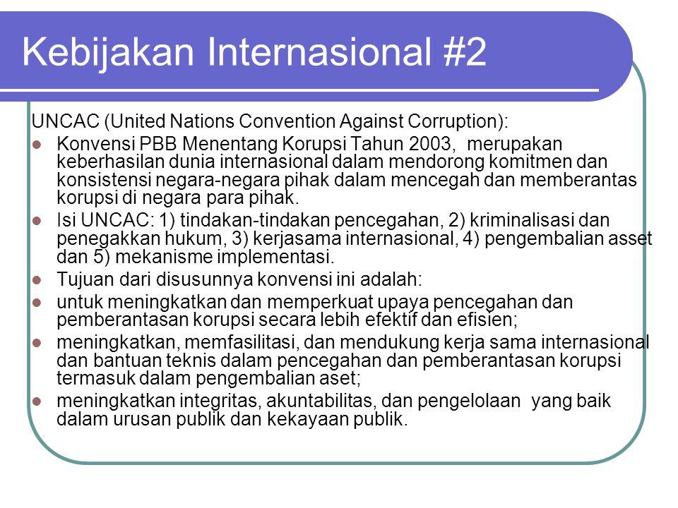 Kebijakan Internasional #2