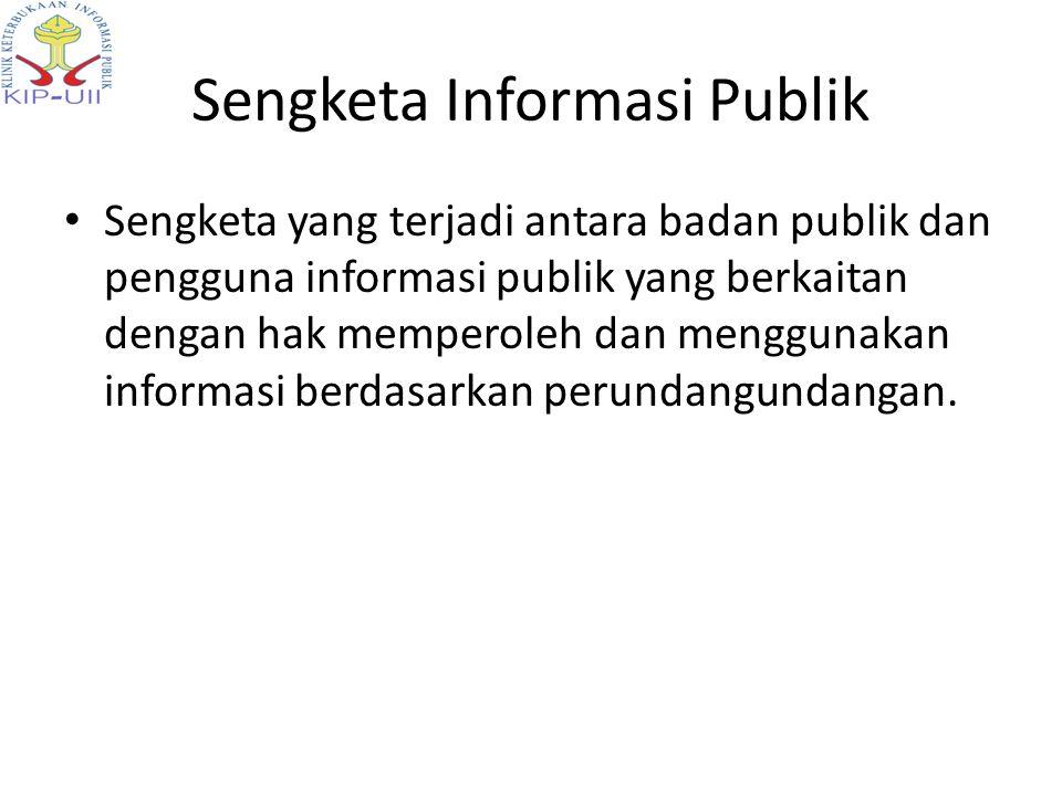 Sengketa Informasi Publik