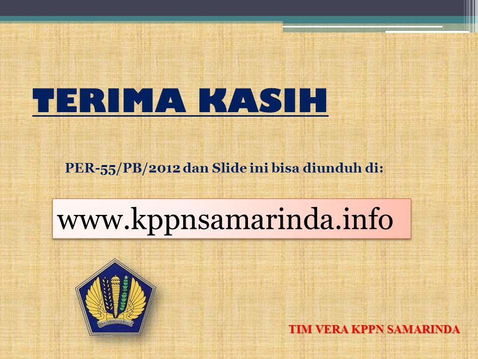 TERIMA KASIH www.kppnsamarinda.info