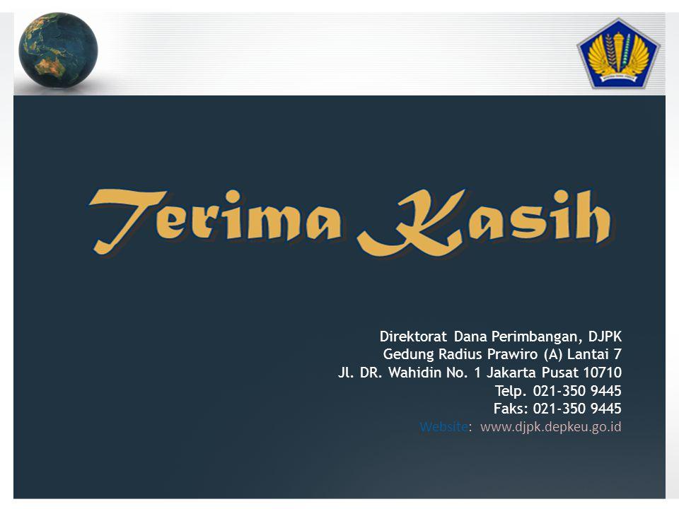 Direktorat Dana Perimbangan, DJPK Gedung Radius Prawiro (A) Lantai 7