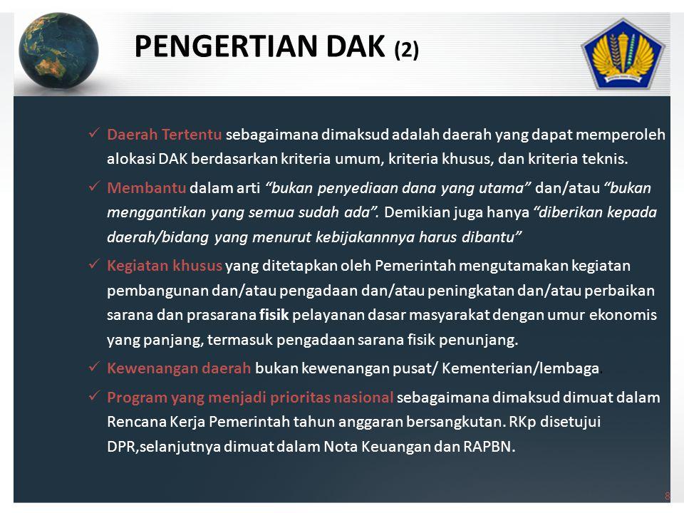 PENGERTIAN DAK (2)