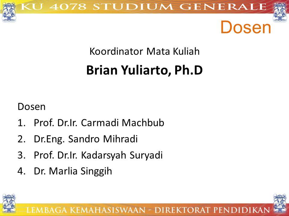 Koordinator Mata Kuliah