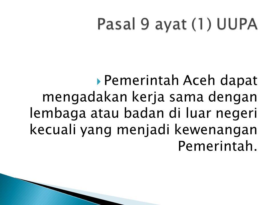 Pasal 9 ayat (1) UUPA
