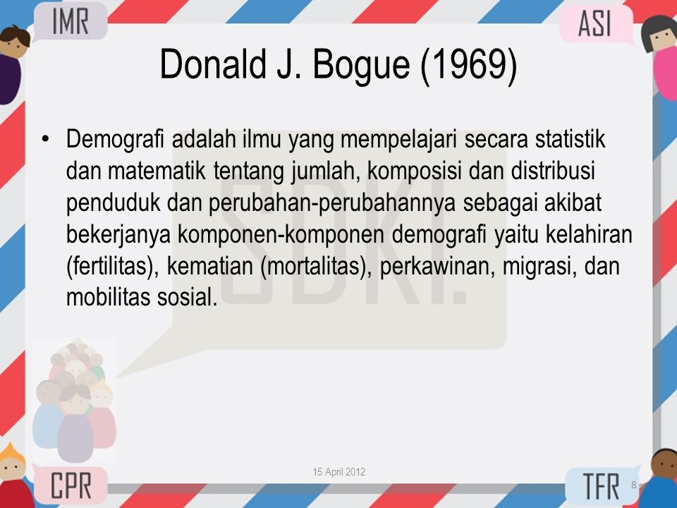 Donald J. Bogue (1969)