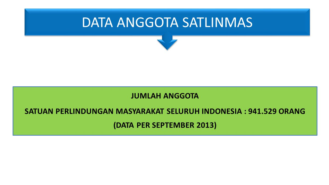 DATA ANGGOTA SATLINMAS