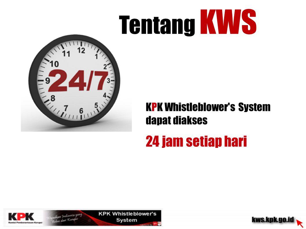 Tentang KWS 24 jam setiap hari