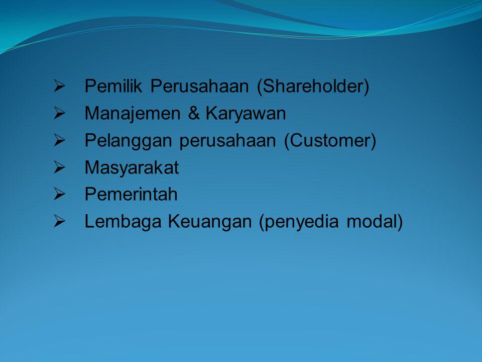 Pemilik Perusahaan (Shareholder)
