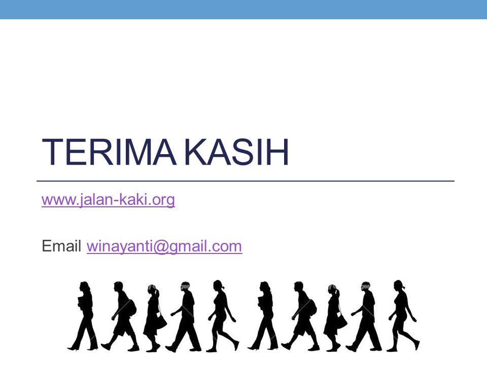 www.jalan-kaki.org Email winayanti@gmail.com