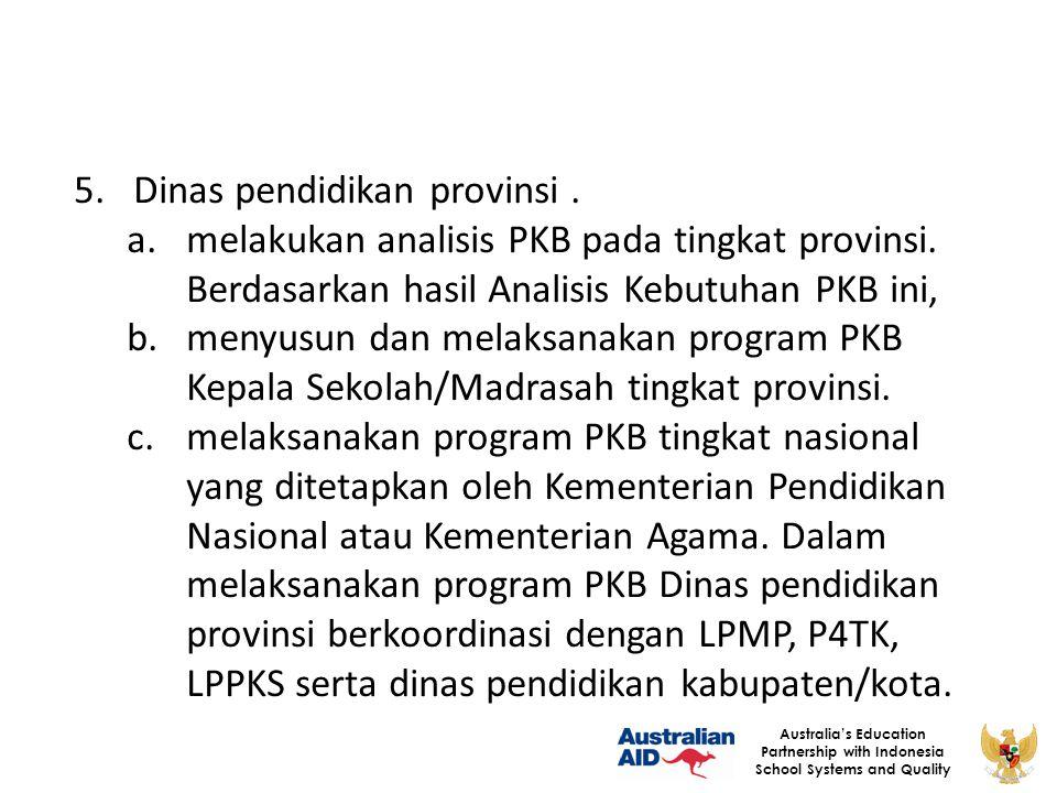 Dinas pendidikan provinsi .
