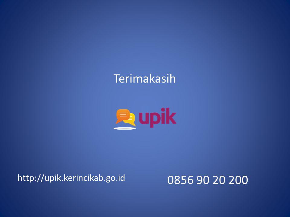 Terimakasih http://upik.kerincikab.go.id 0856 90 20 200