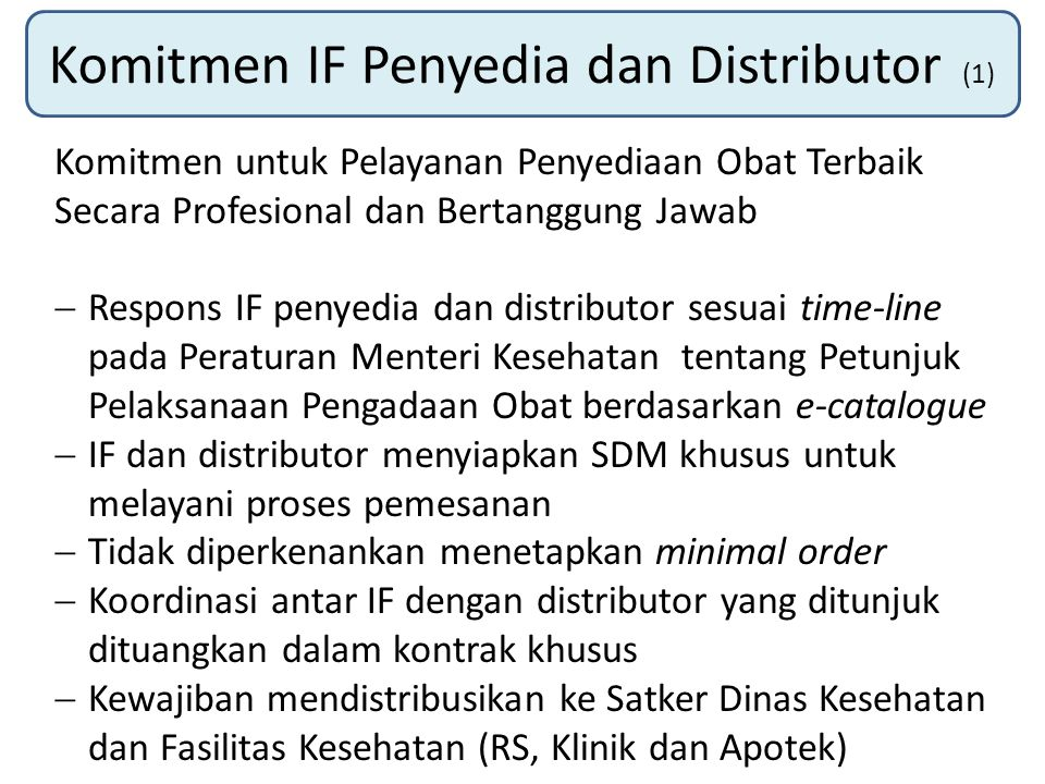 Komitmen IF Penyedia dan Distributor (1)